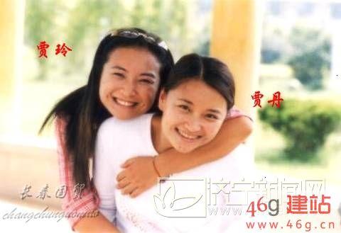贾玲姐姐照片曝光 41岁贾丹曾是主持人五官标致气质不减当年