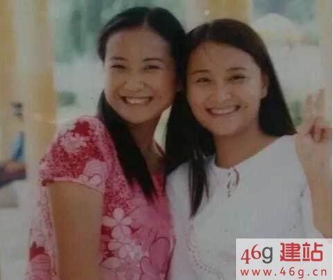 你对贾玲家的基因一无所知,她姐姐年轻时候原来也这么漂亮